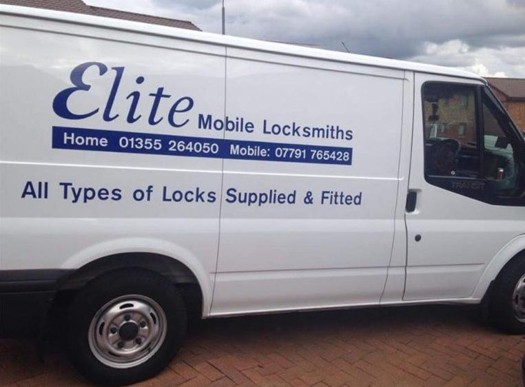 elite mobile locksmiths logo